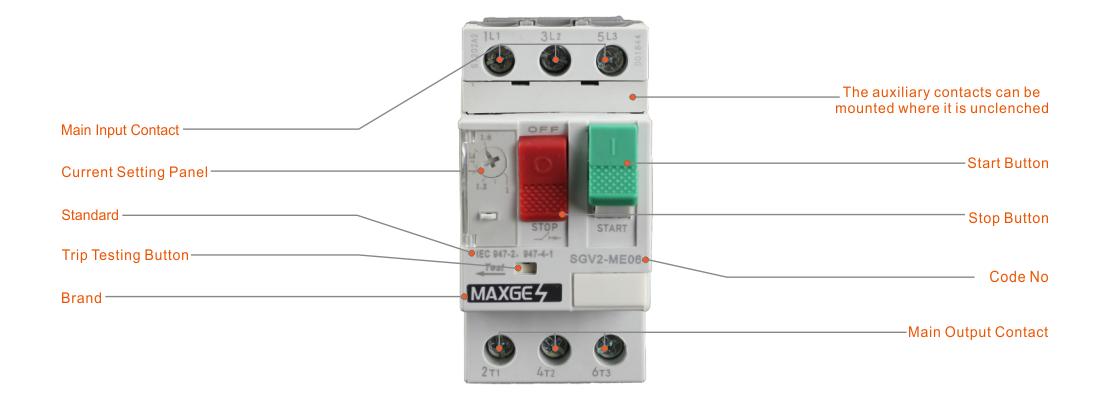 SGV2-M Series Motor Protection Circuit Breaker