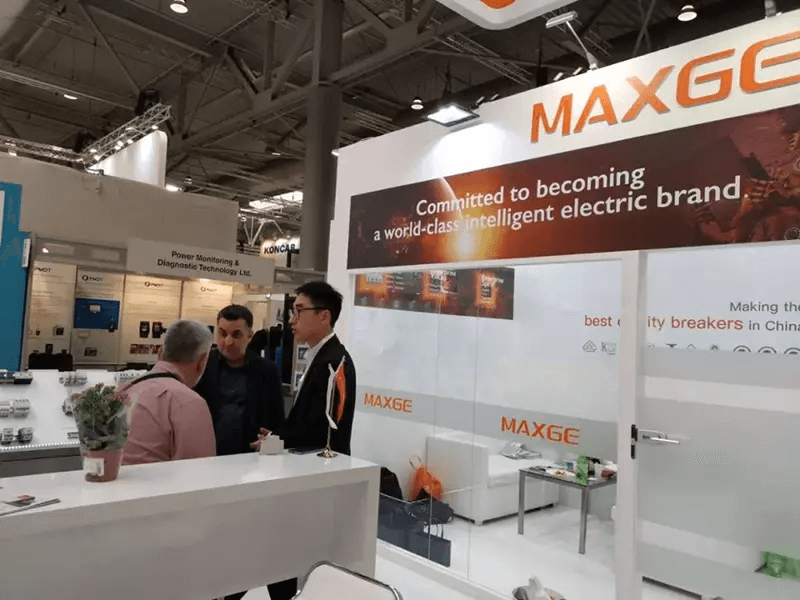 MAXGE's Intelligence and Excellent Quality into 2019 Hannover Messe 12
