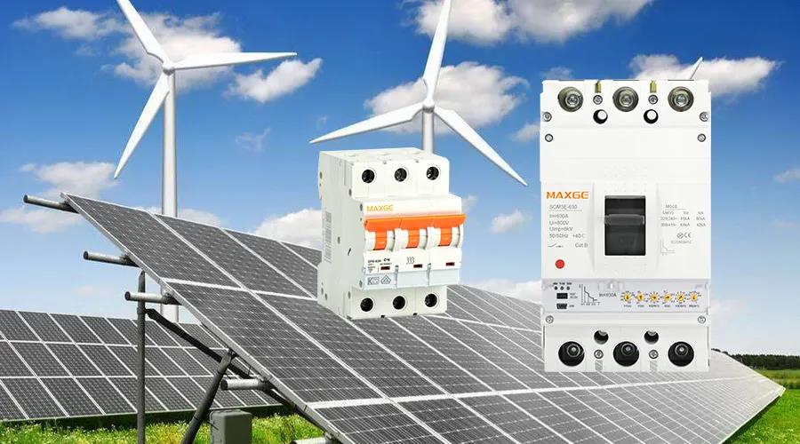Maxge Electric provide power distribution solution for solar photovoltaic systems