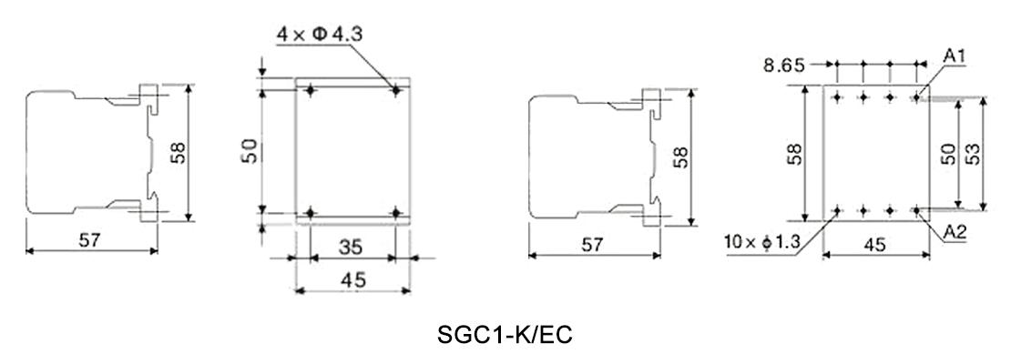 SGC1-K/EC Series Mini Contactor