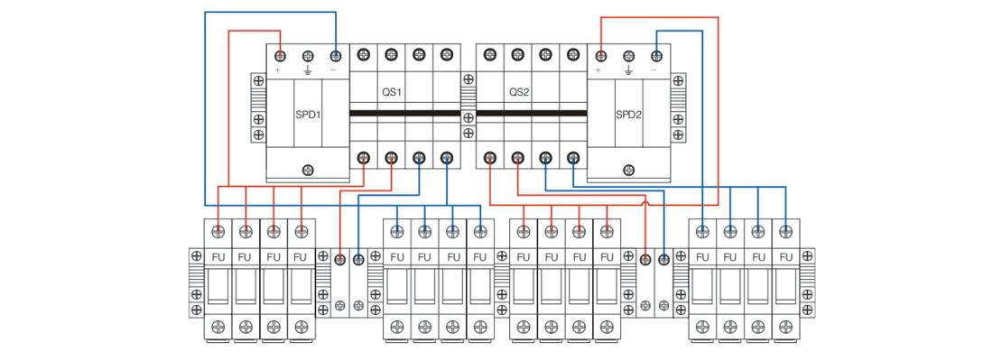MG-PV 8/2 DC COMBINER BOX